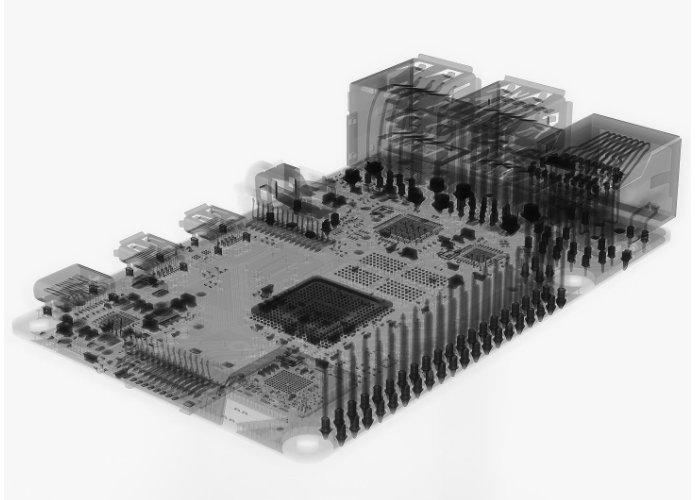 Raspberry Pi 4 X-ray radiographs
