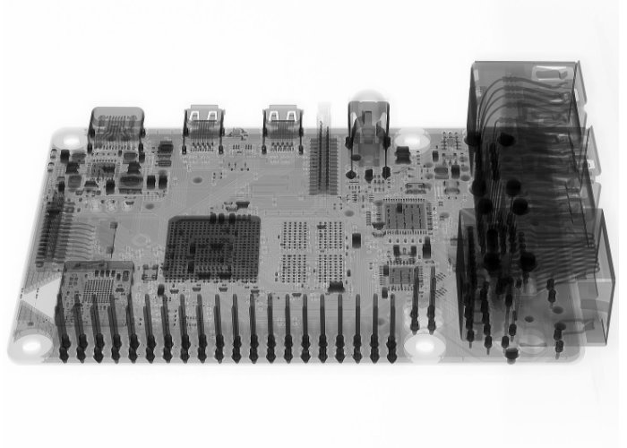 Raspberry Pi 4 X-ray