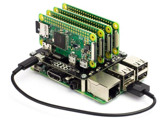 Raspberry Pi Cluster HAT