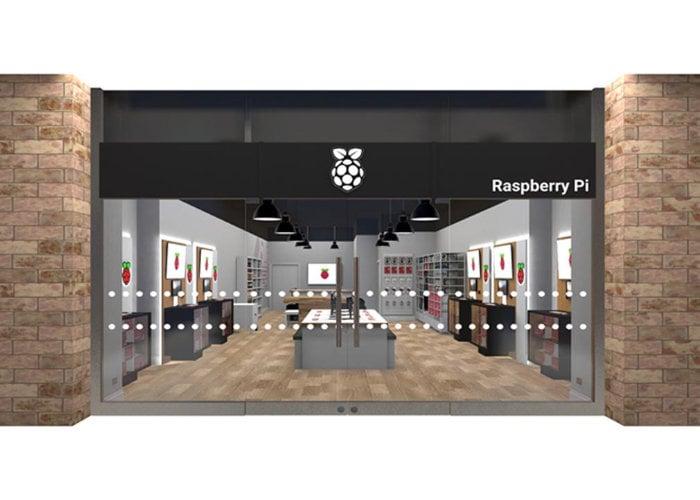 Raspberry Pi Store VR tour