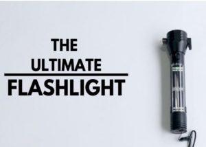 Robust emergency survival flashlight