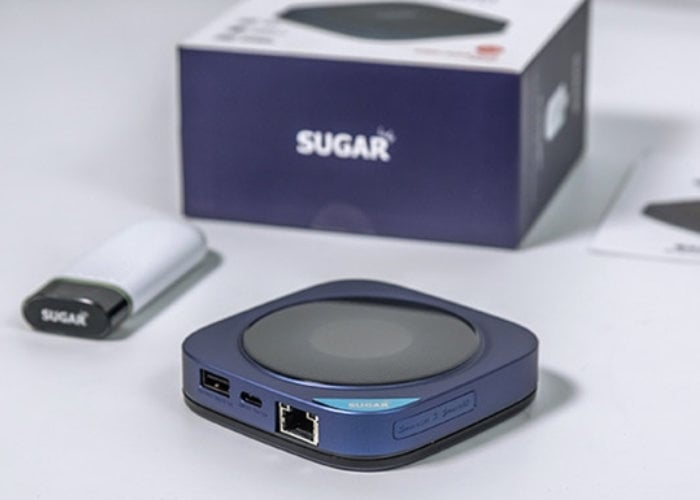 SUGAR 60GHz mobile hotspot router