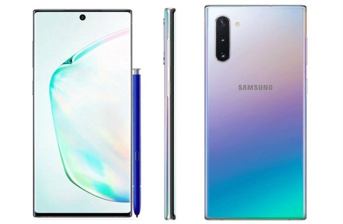 Samsung Galaxy Note 10 press shots leaked