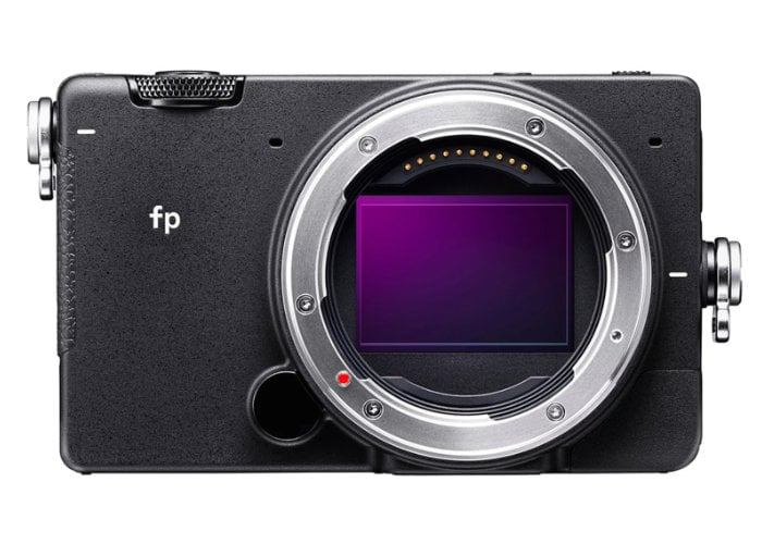 Sigma fp full frame mirrorless camera