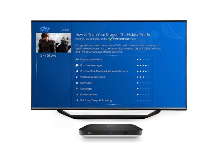 Sky Q Parents Guide