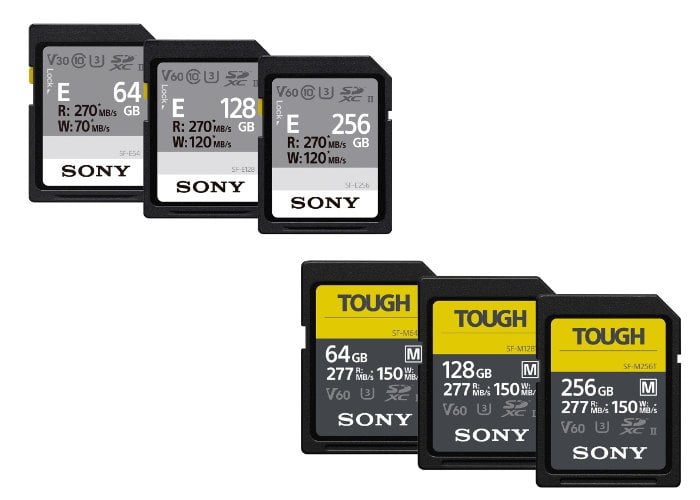 Sony SF-M TOUGH
