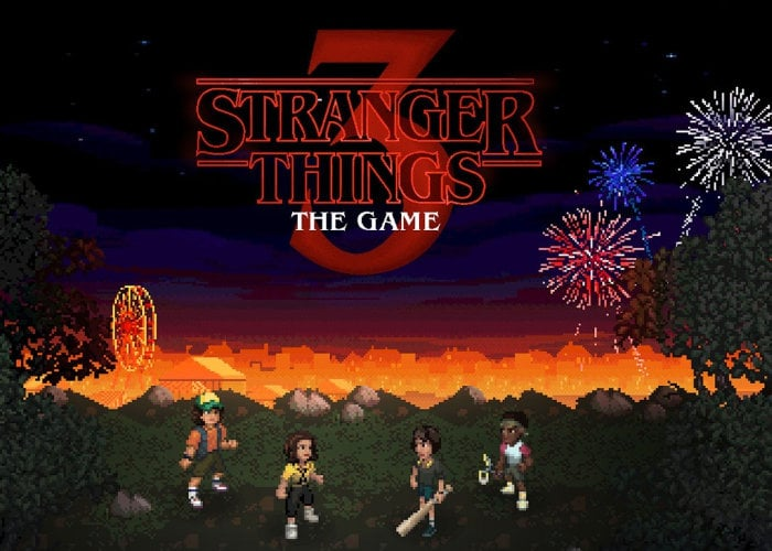 Stranger Things 3 The Game now available