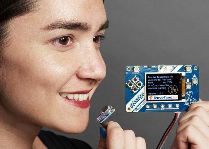 Adafruit makes available a TensorFlow Lite Kit tutorial - Geeky Gadgets