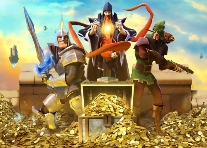 Mighty Quest for Epic Loot mobile RPG game launches