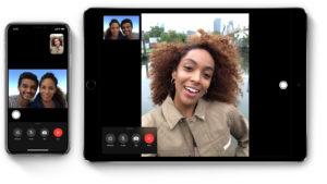 FaceTime in iOS 13