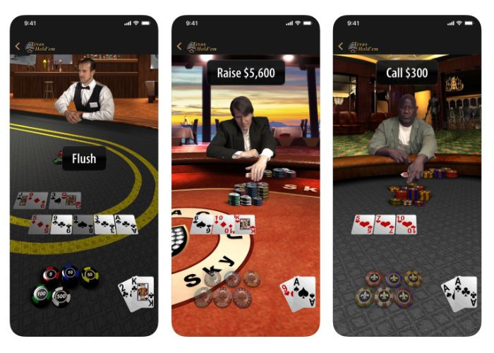 iOS Poker game