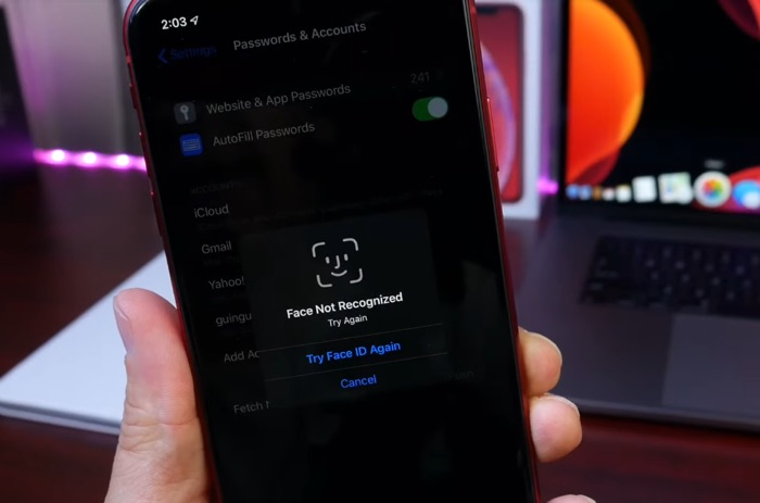 iOS 13 bug discovered that reveals passwords (Video)