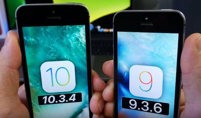 iOS 9.3.6 and iOS 10.3.4