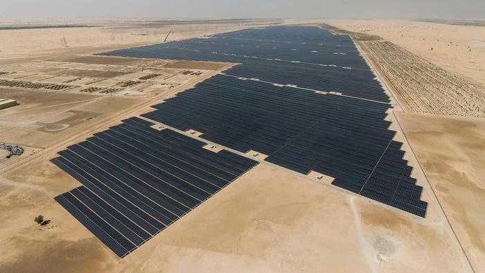 largest single solar project