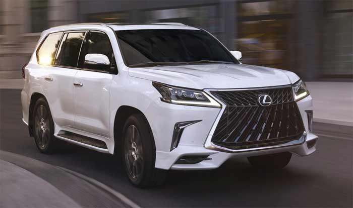 Lexus LX 570 Sport Package Announced