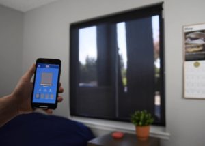 smartphone controlled blinds