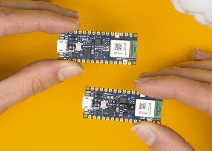Arduino Nano 33 BLE and BLE Sense