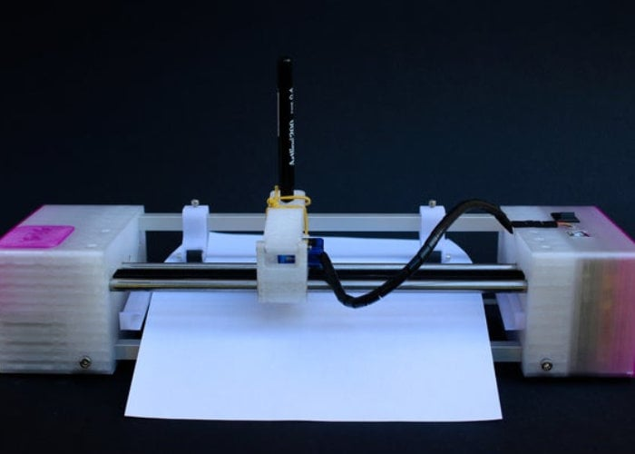 Arduino Pen plotter