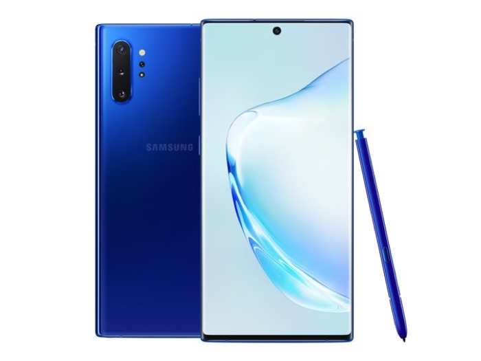 Aura Blue Samsung Galaxy Note 10+