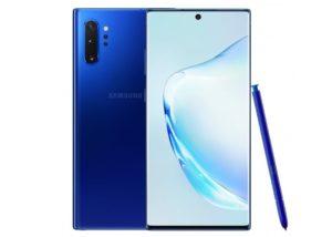 Blue Samsung Galaxy Note10+
