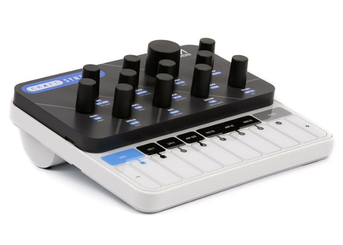 CraftSynth 2 0 portable synthesiser now available for $149
