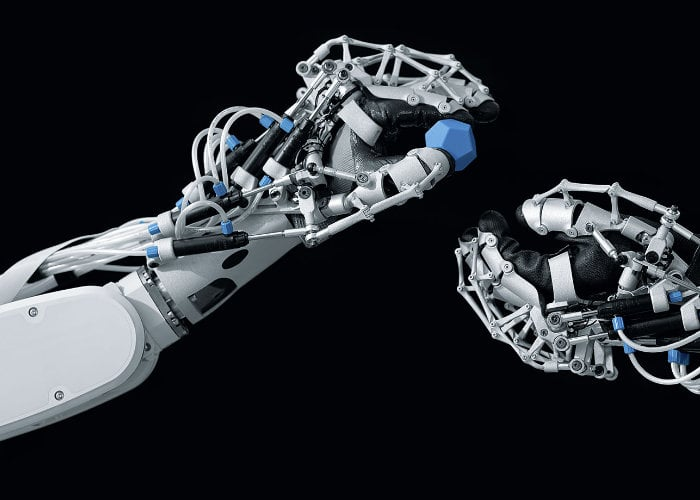 ExoHand next generation exoskeleton arm