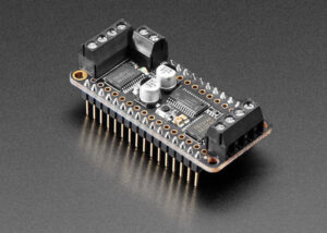 FeatherWing DC motor and stepper add-on board
