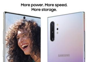 Galaxy Note 10 camera and video