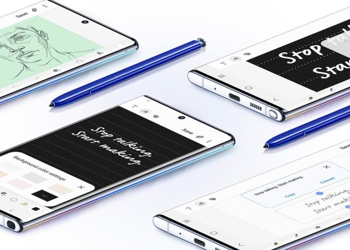Galaxy Note 10 colors