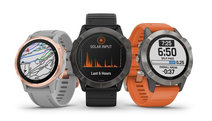 Garmin's new Fenix 6 watches are prettier and last longer