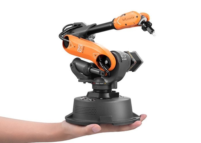 $295 Mirobot industrial robot arm passes $245,000 in funding - Geeky Gadgets