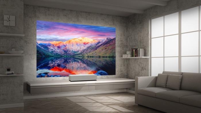 LG CineBeam 4K UHD projector