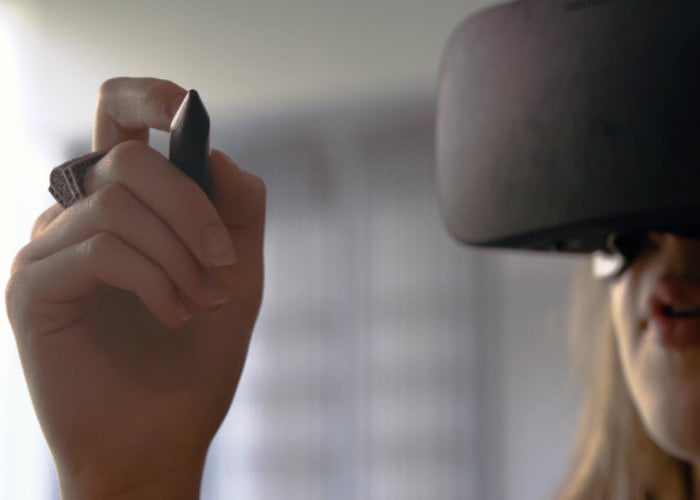 Massless VR Stylus