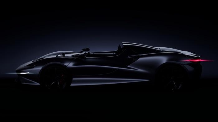 McLaren Ultimate Series Roadster unveiled