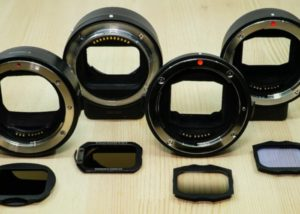 Mirrorless camera adapter mount format filters