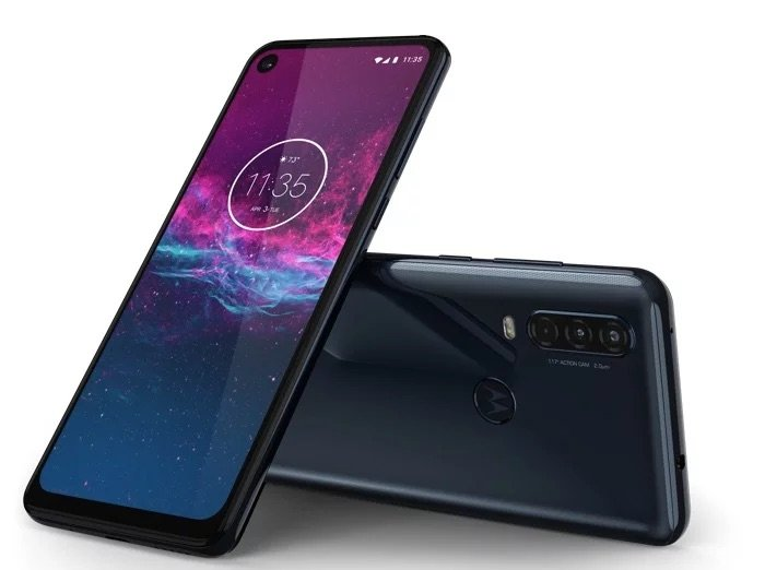 Motorola One Action smartphone had launched in India