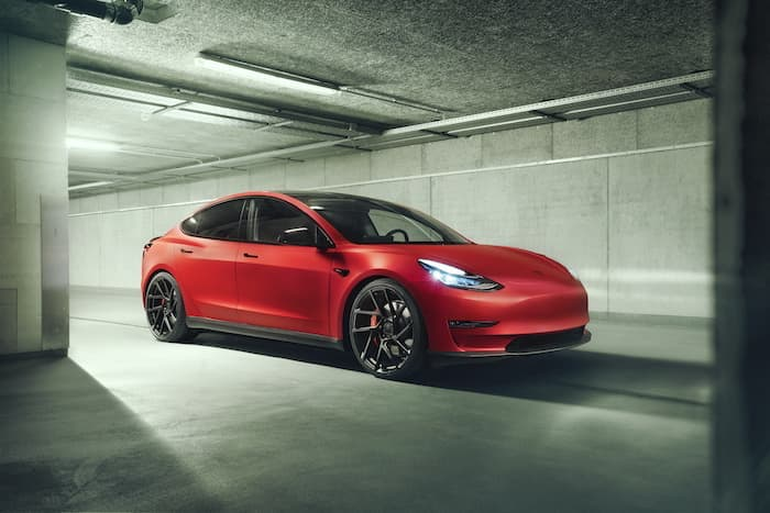Novitec Tesla Model 3 comes with carbon, Aluminum and more