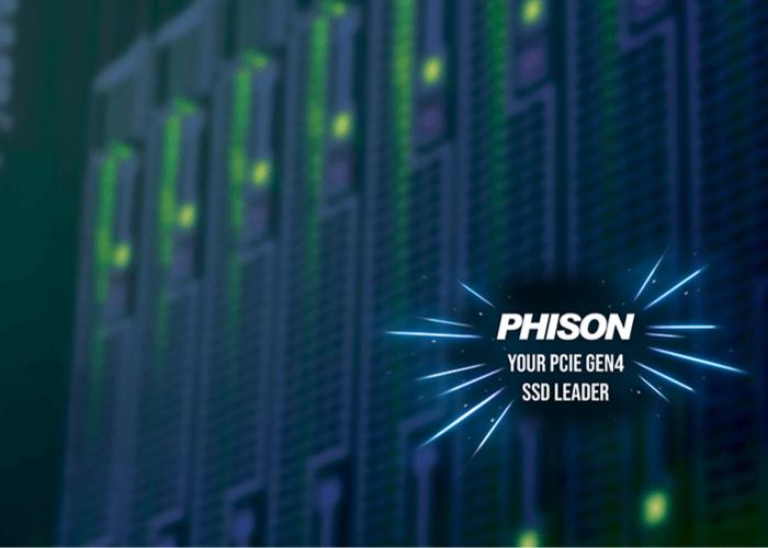 Phison PCIe Gen4 storage