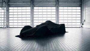 Porsche Formula E electric race car