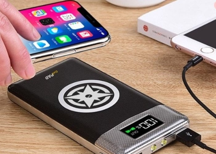 Portable Qi Wireless Charger
