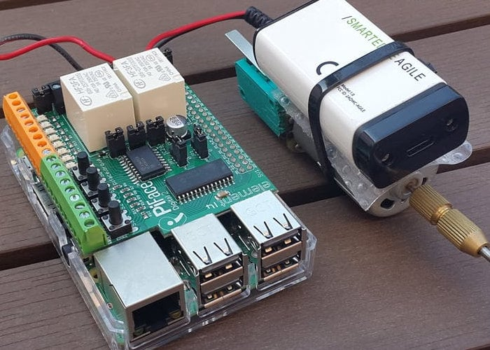 DIY Raspberry Pi AI smart emergency switch