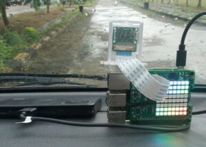 Raspberry Pi car impact sensor and recorder