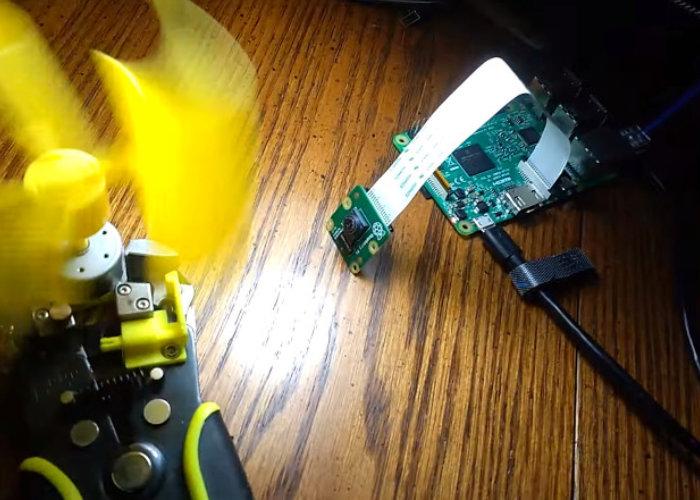 Raspberry Pi slow motion camera
