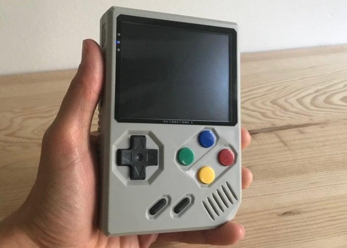 RetroStone 2 handheld gaming console