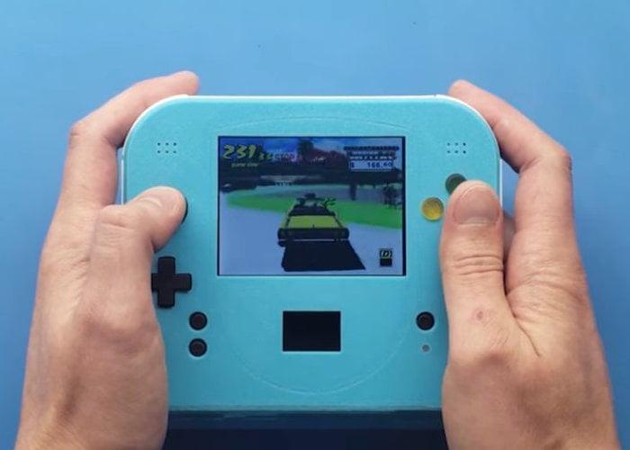 Sega Dreamcast handheld