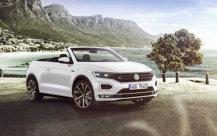 Volkswagen T-Roc Cabriolet SUV unveiled