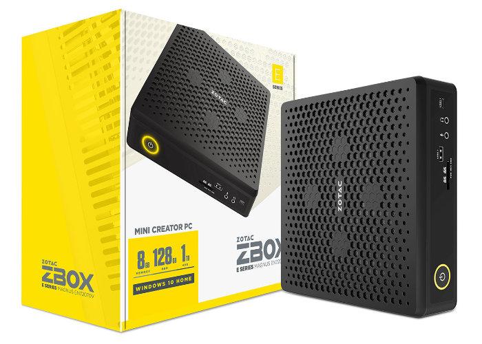 Zotac ZBOX Magnus-E Mini Creator PC announced
