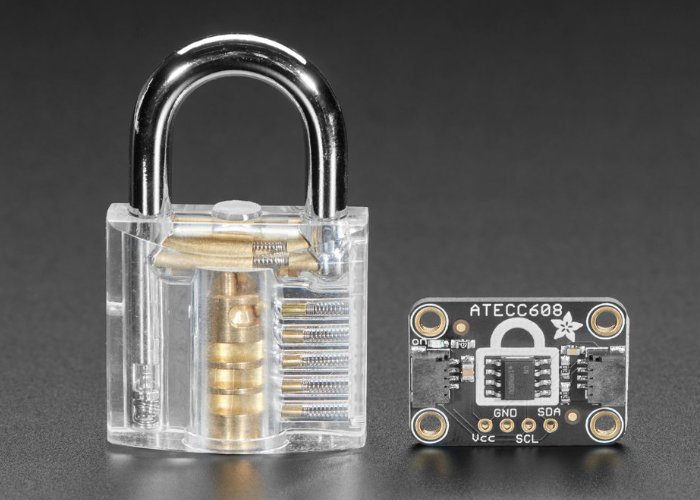 crypto-authentication chip