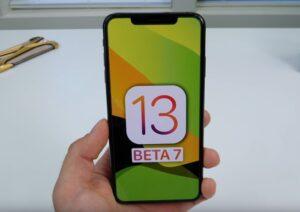 iOS 13 beta 7