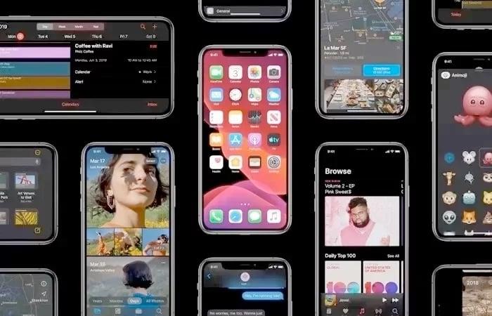 Apple releases iOS 13 beta 8